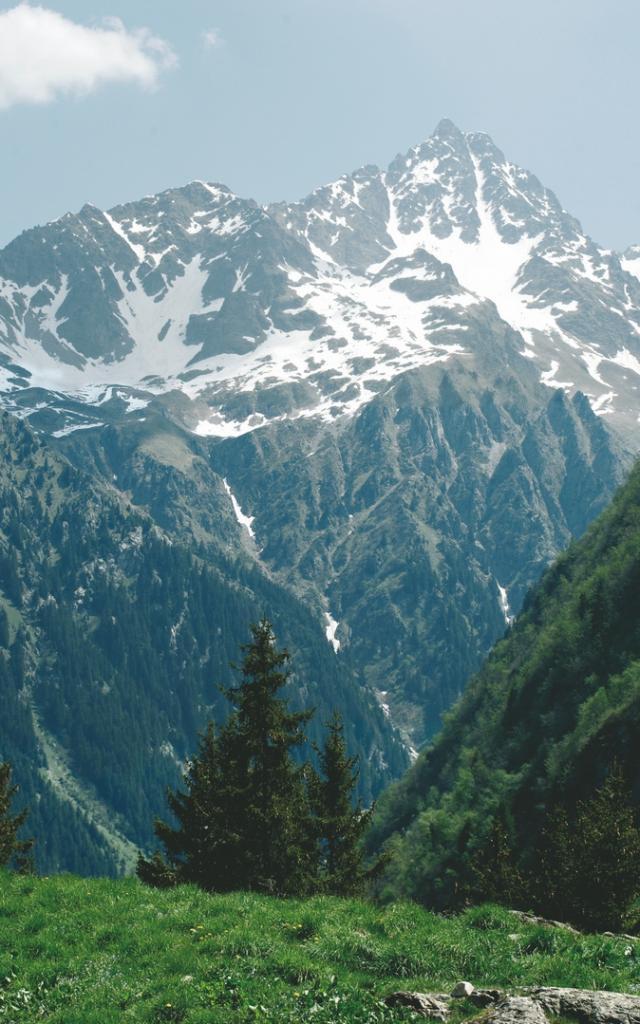 Paysage Belledonne sommets