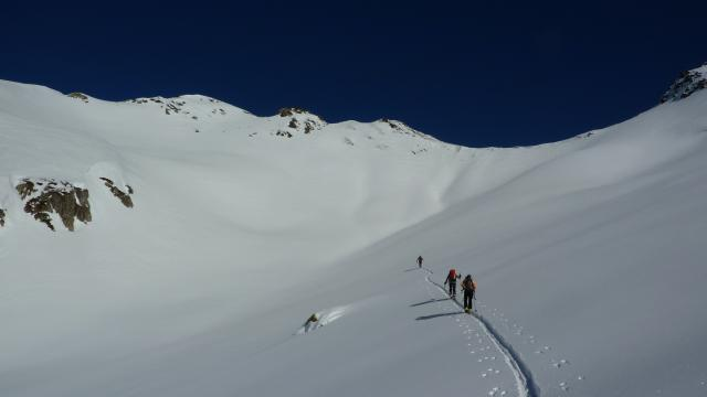 Ski de rando en Belledonne