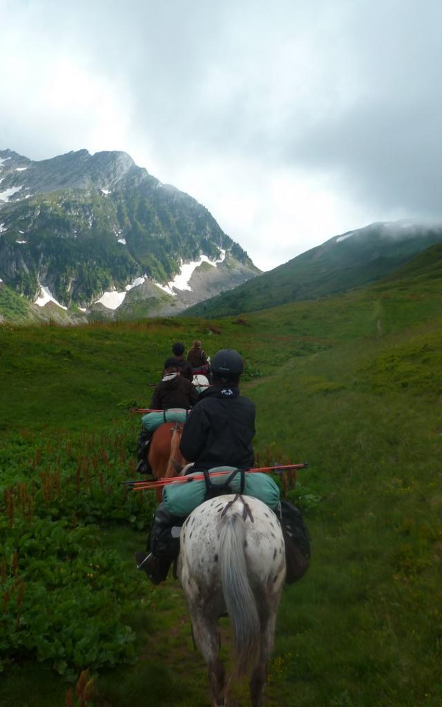 Balade à cheval en Belledonne