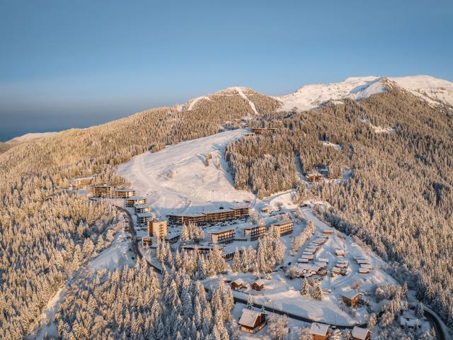Station familiale du Collet sur le Massif de Belledonne