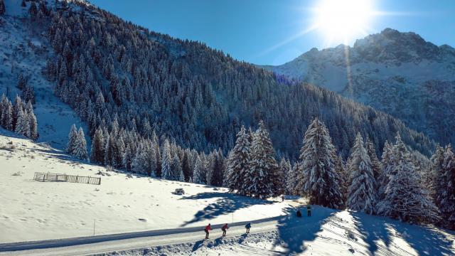 Les 7 Laux est une station de ski de fond pas chère
