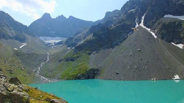 Le Lac Blanc Massif De Belledonne