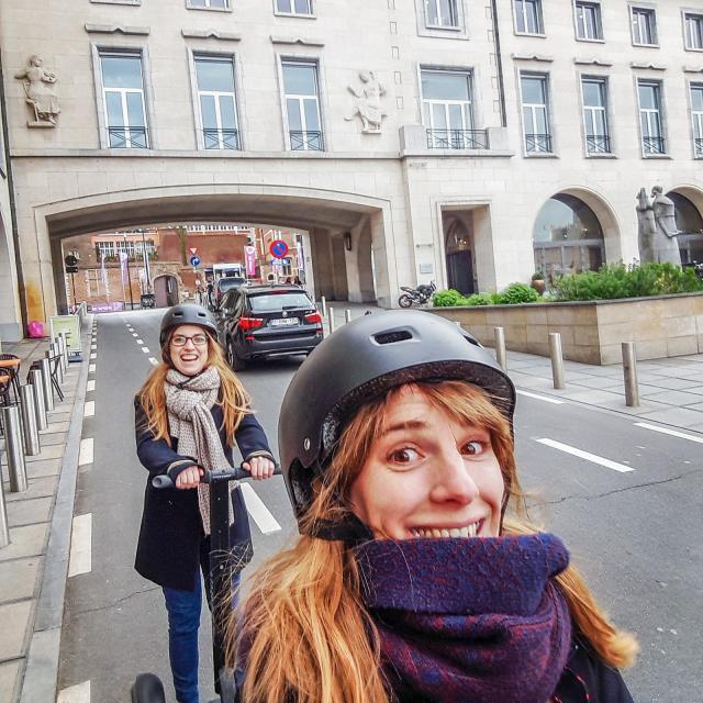 Segway Brussels© visit.brussels