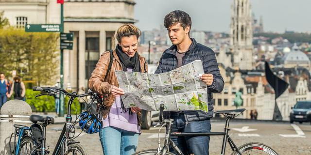Place Royale - Koningspleinvélo - fiets - bike© visit.brussels - Eric Danhier - 2017