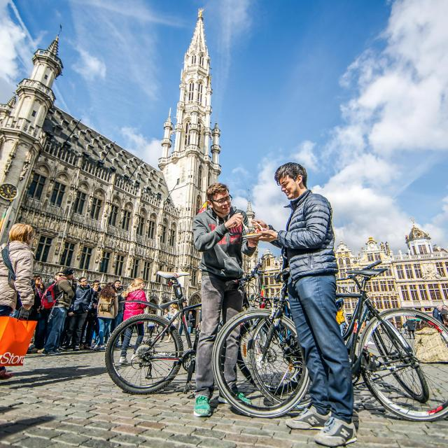 Tourist in Brussels