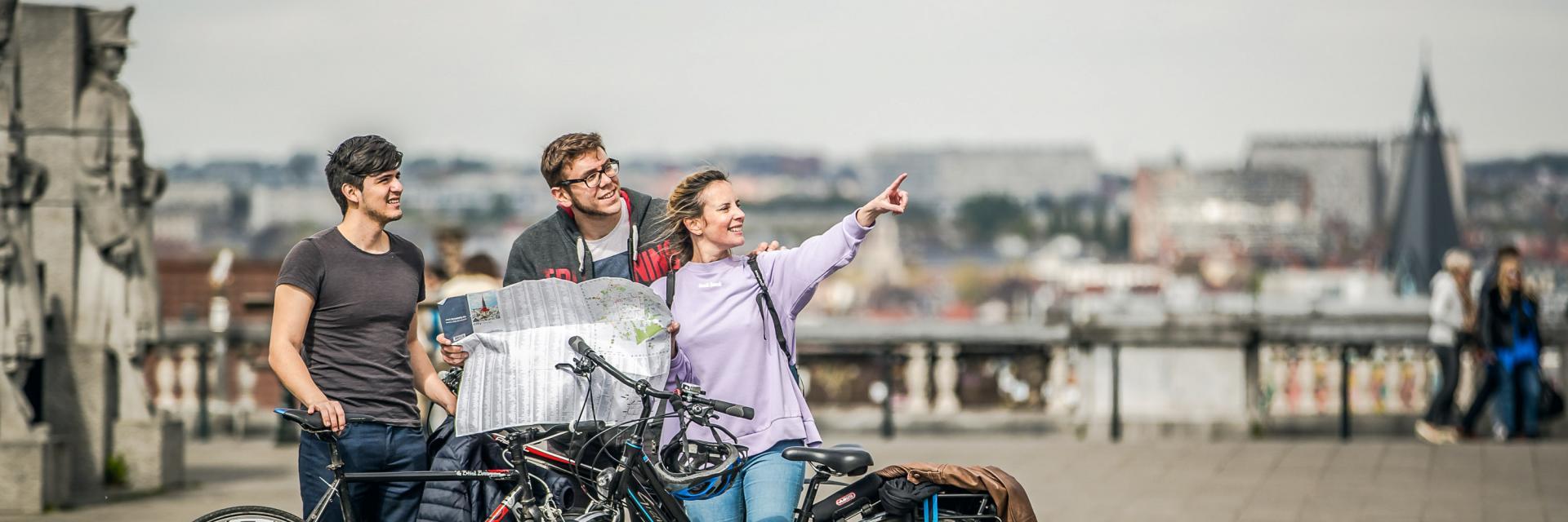 Place Poelaert - Poelaertpleinvélo - fiets - bike© visit.brussels - Eric Danhier - 2017