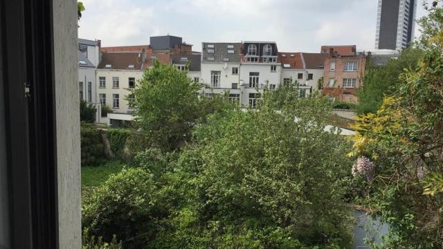 Vue extérieur studio Bruxelles
