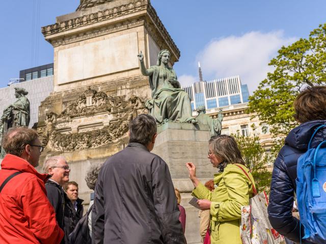 Arkadia - 200 ans de Joseph Poelaert Place du Congrès - Congresplein colonne du Congrès - Congreskolom © Visit Brussels - Jean-Paul Remy - 2017