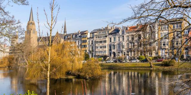 Flagey - Malibran étangs d'Ixelles - vijvers van Elsene © visit.brussels - Jean-Paul Remy - 2017