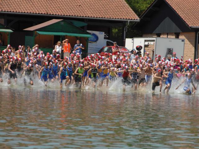 Départ triathlon international