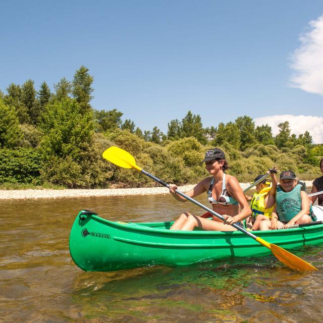 Famille Canoë Kayak