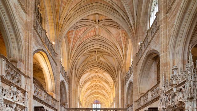 Cœur Et Jubé Monastère Royal De Brou Bourg En Bresse