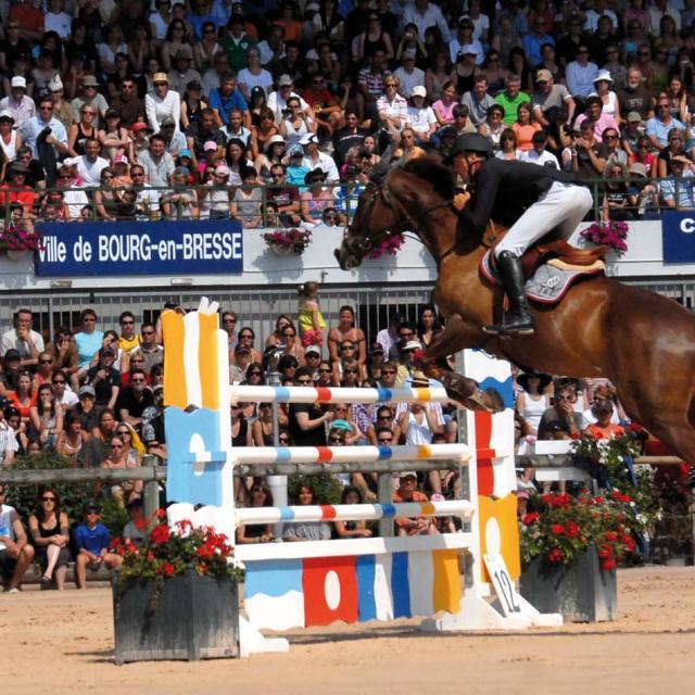 19è édition du jumping international :  parcours et saut d'obstacle.