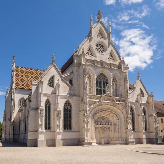 Façade du Monastère Royal De Brou