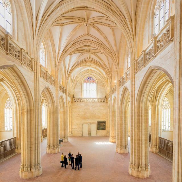 Eglise du Monastère Royal De Brou et ses visiteurs