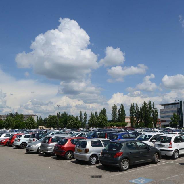 Parking Chp Foire2©ville De Bourg En Bresse Serge Buathier