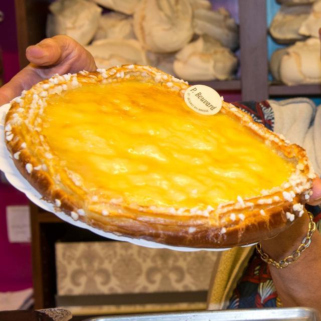 Tarte Bressane Creme De Bresse Bouvard Bourg En Bresse©vittorio Giannella