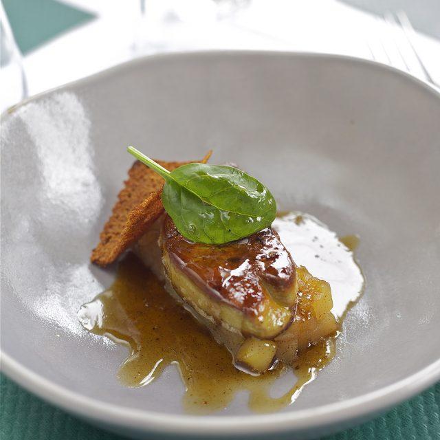 Recette au foie gras