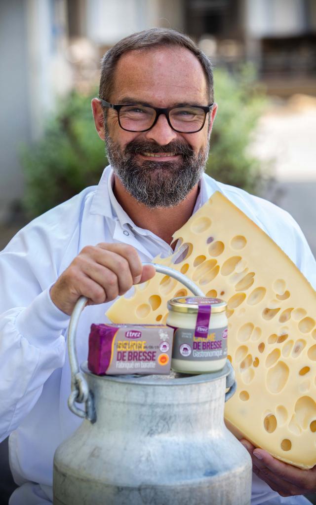 crème, beurre & fromages