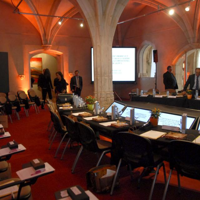 SB-Conférence Villes-centres de Rhone Alpes-Salle de conférence-Monastère Royal de Brou-Quartier Brou.