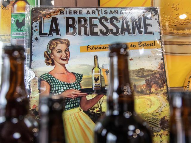 Affiche métallique La Bressane