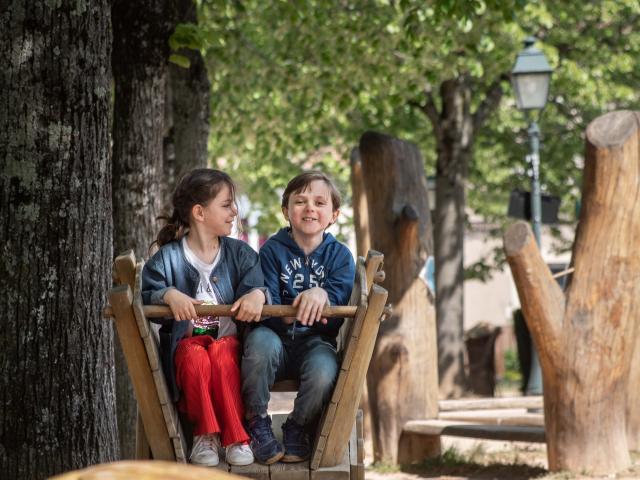 parc du Bastion à Bourg-en-Bresse