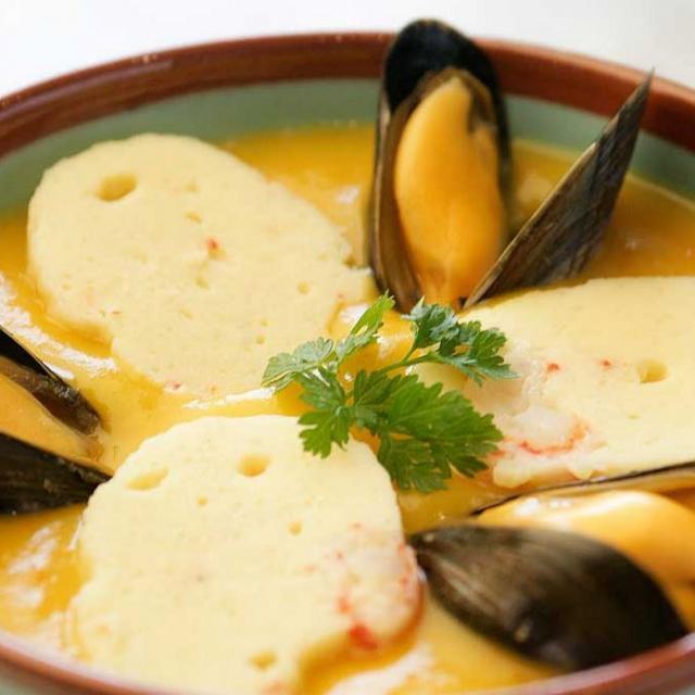 Soupe Potiron & Moules