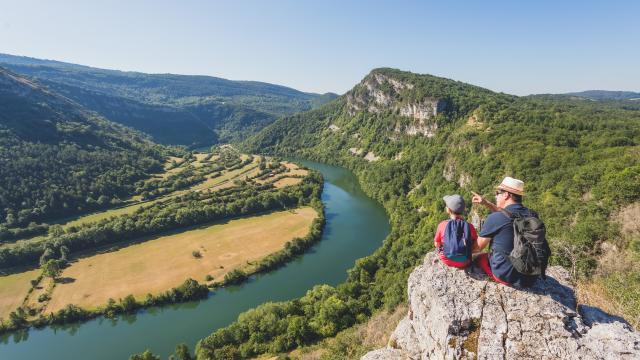 rocher du Jarbonnet - Gorges de l'Ain