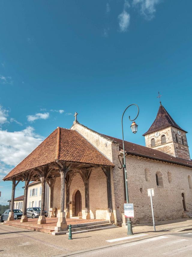 Eglise romane extérieure