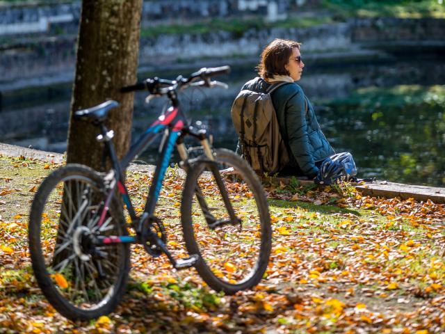 Vélo parc des Baudières à Bourg-en-Bresse