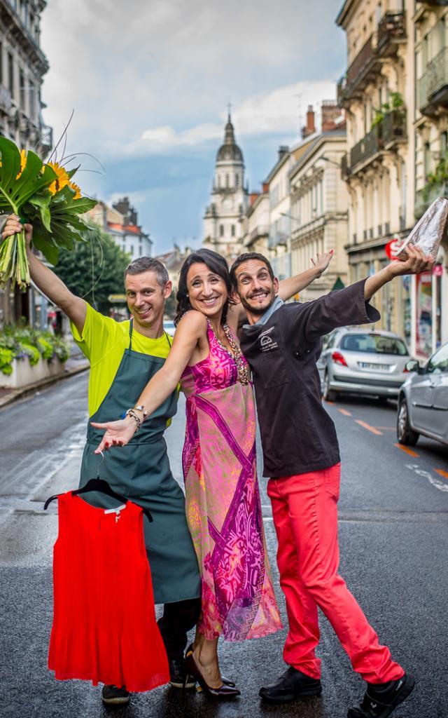 Commerçants centre-ville de Bourg-en-Bresse