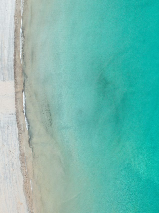 Vue aérienne plage de Saint-Lunaire