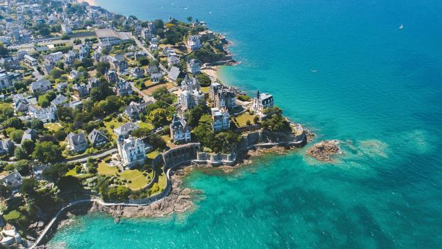 Pointe de la Malouine et ses villas, Dinard