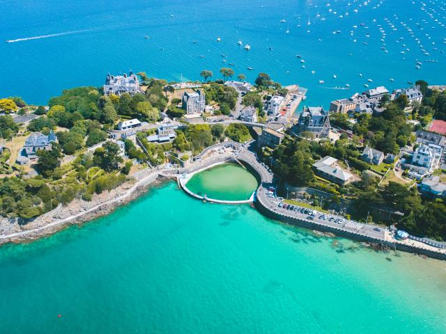 Pointe du Moulinet, Piscine naturelle, Dinard
