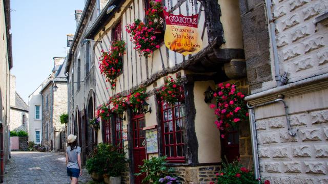 Maisons à pans de bois, Dol-de-Bretagne