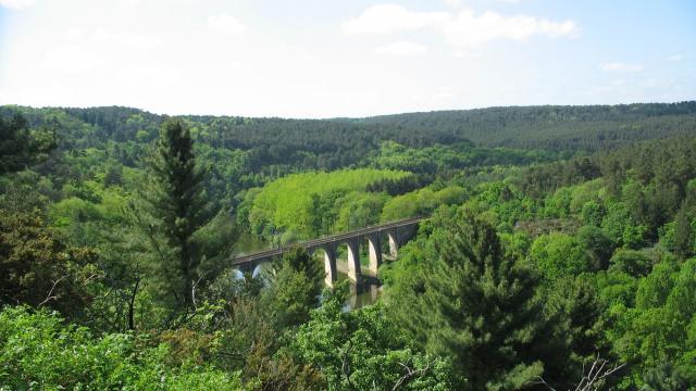 Viaduc des Corbilières, Langon