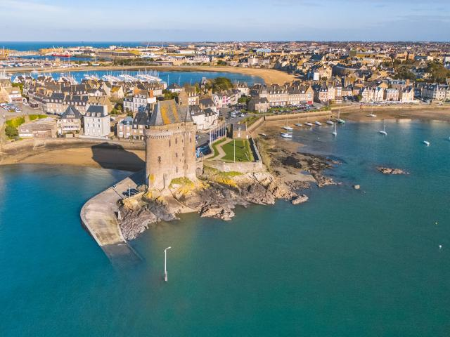 Cité d'Aleth, Tour Solidor, Saint-Malo