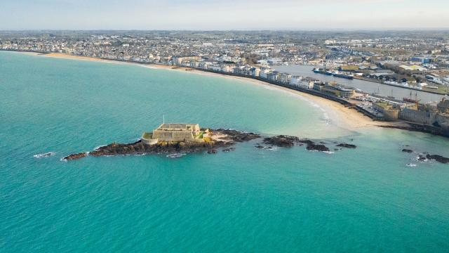 Fort National, Plage du Sillon, Saint-Malo