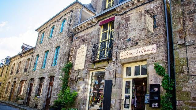 Librairie La Souris des Champs, Bécherel