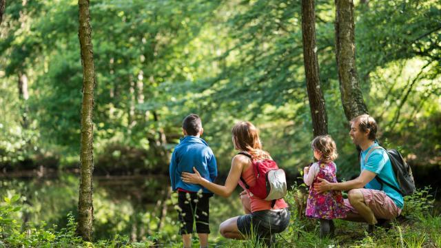 Sortie nature en famille