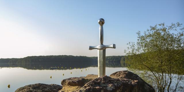 Excalibur, Brocéliande