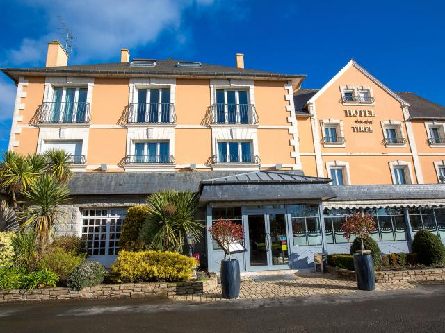 Hôtel Tirel Guérin à St-Méloir des. Ondes