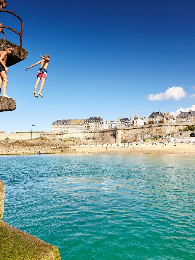 Bon Secours pool, Saint-Malo