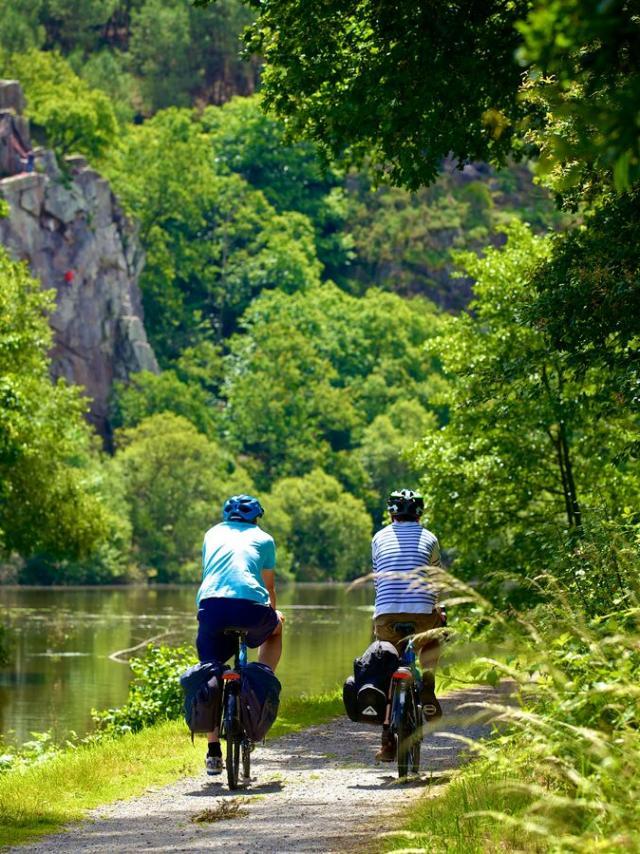 Balade à vélo le long de la Vilaine