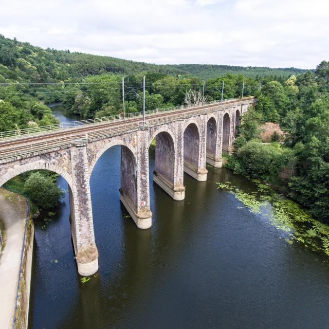 Viaduc ferroviaire de Corbinières, Langon