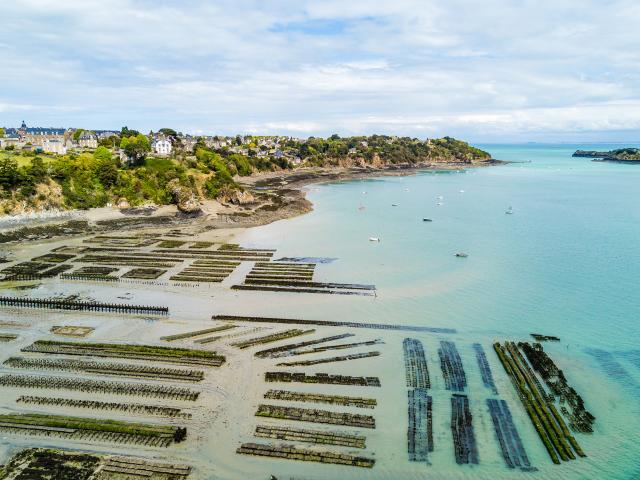 Oyster farms, Cancale