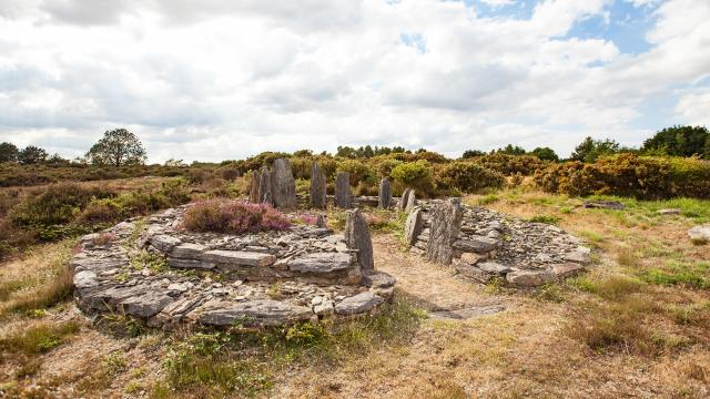 Megaliths and moors of Saint Just