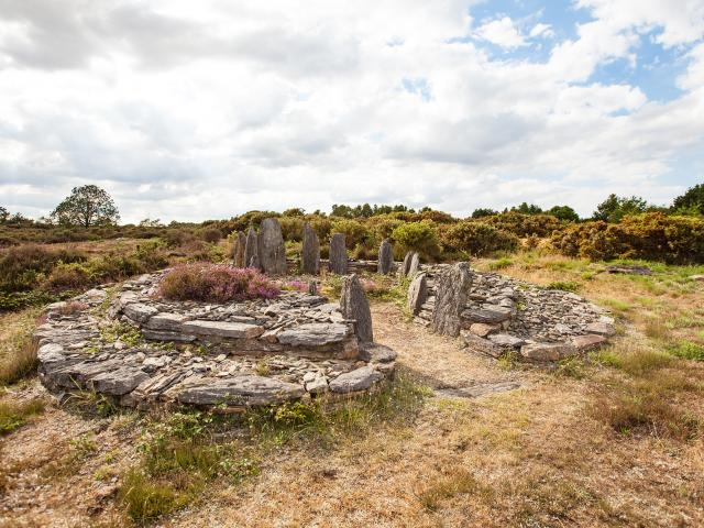 Les landes de Cojoux, Saint Just