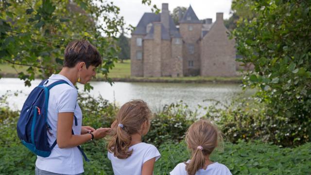 Geocaching, Château de La Motte, Saint-Brice-en-Coglès