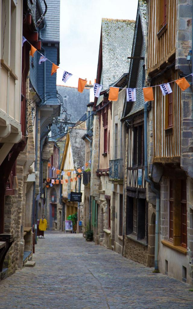 Rue médiévale, Vitré